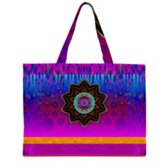 Air And Stars Global With Some Guitars Pop Art Large Tote Bag