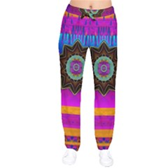 Air And Stars Global With Some Guitars Pop Art Drawstring Pants