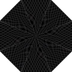 Black Pattern Dark Texture Background Straight Umbrellas