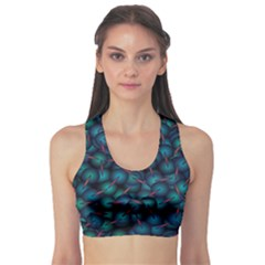 Background Abstract Textile Design Sports Bra