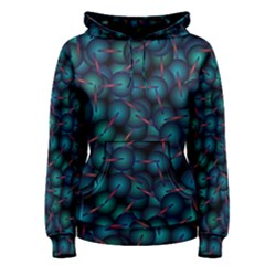 Background Abstract Textile Design Women s Pullover Hoodie