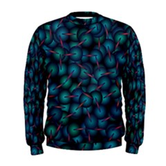 Background Abstract Textile Design Men s Sweatshirt