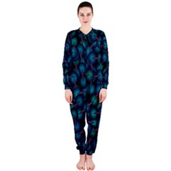 Background Abstract Textile Design Onepiece Jumpsuit (ladies)