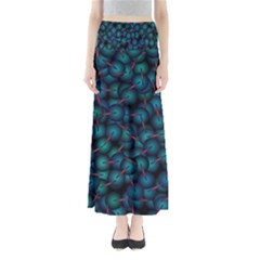 Background Abstract Textile Design Maxi Skirts