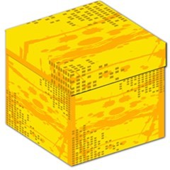 Texture Yellow Abstract Background Storage Stool 12