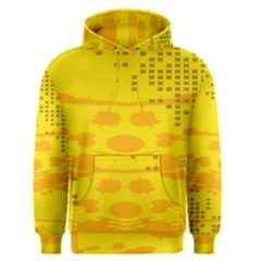 Texture Yellow Abstract Background Men s Pullover Hoodie