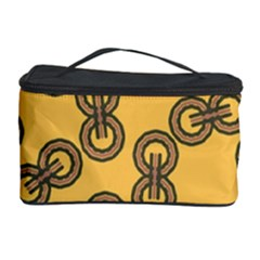 Abstract Shapes Links Design Cosmetic Storage Case