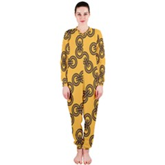 Abstract Shapes Links Design Onepiece Jumpsuit (ladies)