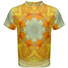 Sunshine Sunny Sun Abstract Yellow Men s Cotton Tee