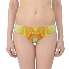Sunshine Sunny Sun Abstract Yellow Hipster Bikini Bottoms