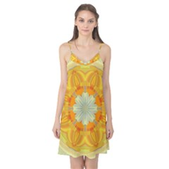 Sunshine Sunny Sun Abstract Yellow Camis Nightgown