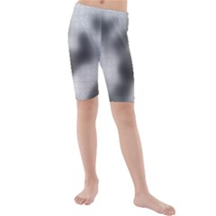 Puzzle Grey Puzzle Piece Drawing Kids  Mid Length Swim Shorts