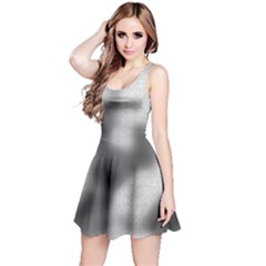 Puzzle Grey Puzzle Piece Drawing Reversible Sleeveless Dress