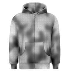 Puzzle Grey Puzzle Piece Drawing Men s Zipper Hoodie