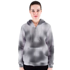 Puzzle Grey Puzzle Piece Drawing Women s Zipper Hoodie