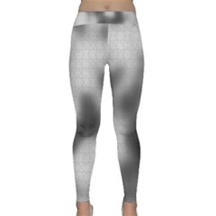 Puzzle Grey Puzzle Piece Drawing Classic Yoga Leggings