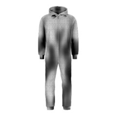 Puzzle Grey Puzzle Piece Drawing Hooded Jumpsuit (Kids)