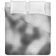 Puzzle Grey Puzzle Piece Drawing Duvet Cover Double Side (california King Size)