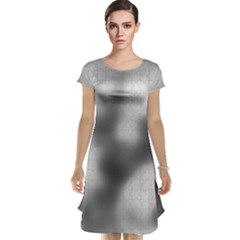 Puzzle Grey Puzzle Piece Drawing Cap Sleeve Nightdress