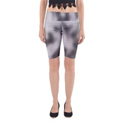 Puzzle Grey Puzzle Piece Drawing Yoga Cropped Leggings