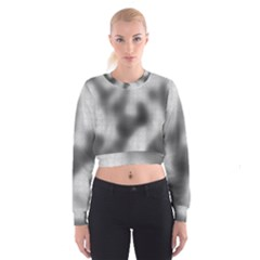 Puzzle Grey Puzzle Piece Drawing Cropped Sweatshirt