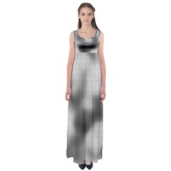 Puzzle Grey Puzzle Piece Drawing Empire Waist Maxi Dress