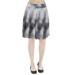 Puzzle Grey Puzzle Piece Drawing Pleated Skirt