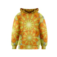 Sunshine Sunny Sun Abstract Yellow Kids  Pullover Hoodie