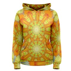 Sunshine Sunny Sun Abstract Yellow Women s Pullover Hoodie