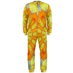 Sunshine Sunny Sun Abstract Yellow Onepiece Jumpsuit (men)