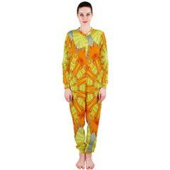 Sunshine Sunny Sun Abstract Yellow Onepiece Jumpsuit (ladies)