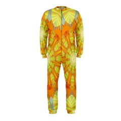 Sunshine Sunny Sun Abstract Yellow Onepiece Jumpsuit (kids)