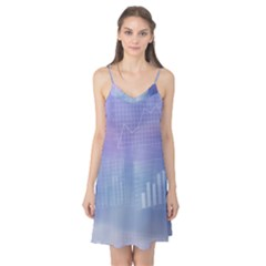 Business Background Blue Corporate Camis Nightgown