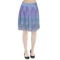 Business Background Blue Corporate Pleated Skirt