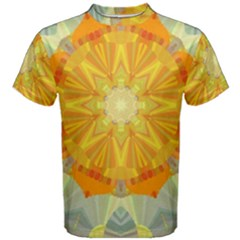 Sunshine Sunny Sun Abstract Yellow Men s Cotton Tee