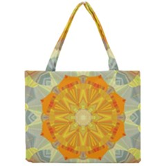 Sunshine Sunny Sun Abstract Yellow Mini Tote Bag