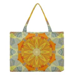 Sunshine Sunny Sun Abstract Yellow Medium Tote Bag