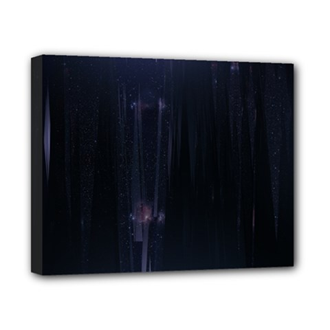 Abstract Dark Stylish Background Canvas 10  x 8
