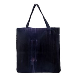 Abstract Dark Stylish Background Grocery Tote Bag