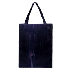 Abstract Dark Stylish Background Classic Tote Bag