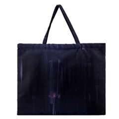 Abstract Dark Stylish Background Zipper Large Tote Bag
