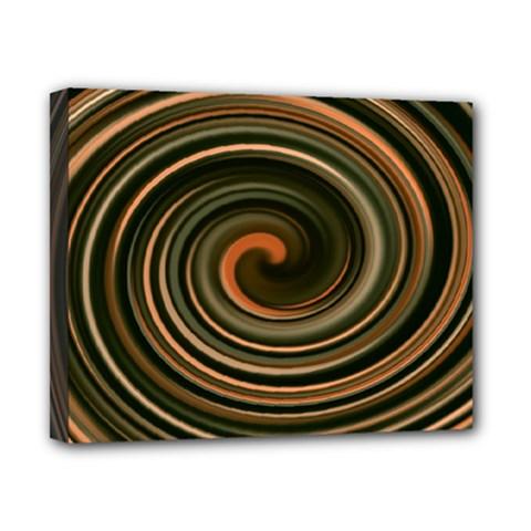Strudel Spiral Eddy Background Canvas 10  x 8
