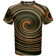 Strudel Spiral Eddy Background Men s Cotton Tee