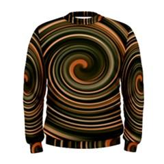 Strudel Spiral Eddy Background Men s Sweatshirt