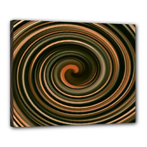 Strudel Spiral Eddy Background Canvas 20  x 16
