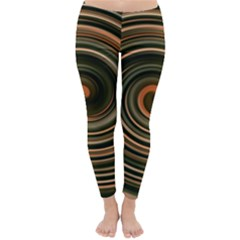 Strudel Spiral Eddy Background Classic Winter Leggings