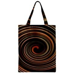 Strudel Spiral Eddy Background Zipper Classic Tote Bag