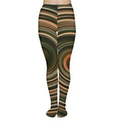 Strudel Spiral Eddy Background Women s Tights