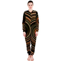 Strudel Spiral Eddy Background Onepiece Jumpsuit (ladies)