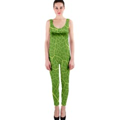 Green Leaf Line OnePiece Catsuit